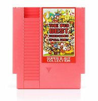 Nintendo NES Cartridge 143 in 1 Super Best Video Games Of All Time 72 Pins 8 Bit