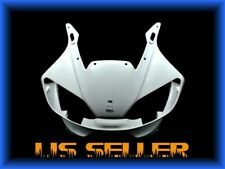 US STOCK UNPAINTED UPPER FARING NOSE For YAMAHA 1999 2000 2001 2002 YZF R6 R600