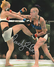 ROWDY BEC RAWLINGS SIGNED AUTO'D 8X10 PHOTO UFC FIGHT NIGHT TUF 20 MMA VS HAM B
