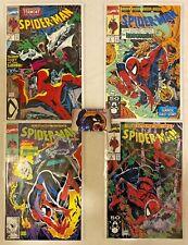 Lot of 4 Spider-Man Comics Todd McFarlane Covers #2 #6 #7 #8 VF/NM Marvel Comics