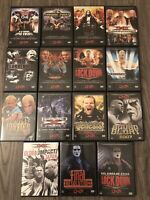 TNA Impact Wrestling 2004-2007 DVD LOT OF 15 RARE OOP WWE AEW WCW ECW NJPW ROH