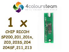 1x Toner Reset Chip for Ricoh SP 200 Sp200 201 203 204 211 213 Sp213w NW 407254