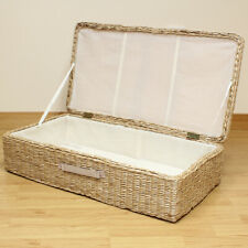 Hartleys Large Under Bed Storage Box/Chest Shoes/Bedding/Blanket Underbed Trunk