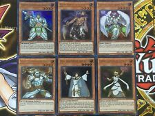 Yugioh Lightsworn Ultra rare set Lyla + Wulf + Lumina + Celestia + Raiden