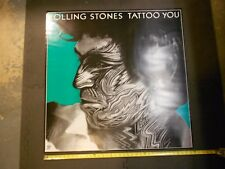 "ROLLING STONES KEITH RICHARDS TATTOO YOU POSTER 36""X36"""