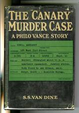 THE CANARY MURDER CASE by Van Dine, rare US Scribners crime hardcover in DJ