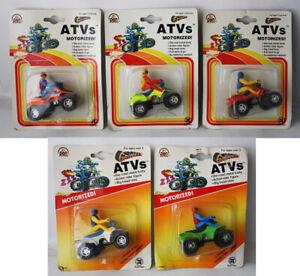 5X VINTAGE 1993 1994 ZYLMEX GRIPPERS ATVS MOTORIZED DIE CAST NEW SEALED !