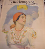 Needlecraft The Home Arts Magazine August 1934   John Edwin Jackson cover