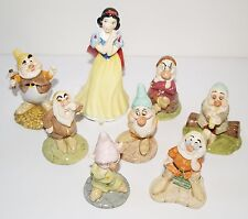 Royal Doulton Walt Disney Classics Collection Snow White & 7 Seven Dwarfs Dopey