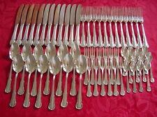 WMF 3200 baroque 12 Personen couverts de table 60 parties 90 plaqué argent