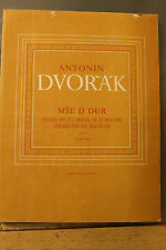 Antonin Dvorak Supraphon Mass in D Major Kyrie choir and orchestra 145 pages