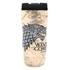 Game of Thrones - Reisetasse - Reisebecher Tasse - Stark - Winter is Coming