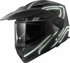 LS2 FF324 Metro V3 Firefly Black/Glow Modular Motorcycle Helmet Flip Up 2XL