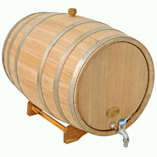 21 Gallon NEW! 80 Liters Oak WOODEN Europe Rum Whiskey Barrel Beer Keg Wine Cask