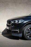 FOR BMW  X5 F15  M Sport  HEADLIGHTS Eyelid Eyebrows Black Glossy Sporty look