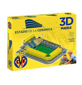 Villarreal Estadio de la Ceramica Stadium 3D Jigsaw Puzzle (efp)