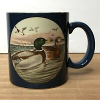 Otagiri Japan Mallard Duck Blue Coffee Mug