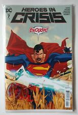 DC Heroes in Crisis Issue 7 Bagged and Boarded
