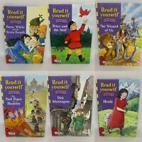 6 Ladybird Learn to Read Books - Read It Yourself - Level 4 - GC Pre-Owned