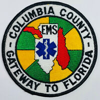 Columbia County Emergency Medical Services EMS Gateway To Florida FL Patch (A5)