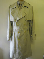 Burberry Polyester Collared Long Coats & Jackets for Men