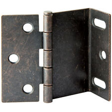 2-1/2'' Wrap-Around Hinges for Shutters, Oil Rubbed Bronze
