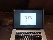 MacBook Pro (Retina, 15-inch, Late 2013) 16gb RAM, i7 2.6GHZ, 1TB Flash Storage