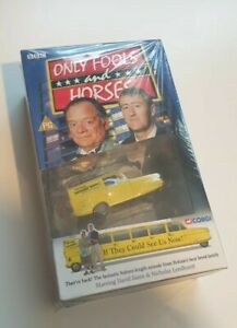 ONLY FOOLS & HORSES - IF THEY COULD SEE US NOW - VHS CORGI CAR - Brand New MINT