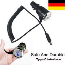 USB-C Typ-C Auto SCHNELL KFZ Ladegerät Ladekabel Für Samsung Galaxy A9 S8+ S9+