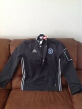 adidas new york city football club coach mls Gray soccer jacket NWT size S mens