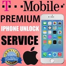 T-MOBILE PREMIUM IPHONE 5, 5S, 5C, SE, 6, 6+, 6S, 6S+, 7, 7+ UNLOCK SERVICE