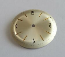 Watchmaking Dial Watch Curved Golden Diameter 1 3/32in Cal. Jej 23-D