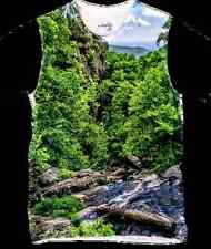 New Mens Mountain Cotton Breathable T Shirt