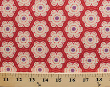 Flowers Floral Geometric Anna Maria Horner Cotton Fabric Print BTY D685.22