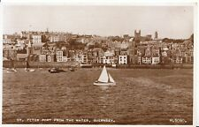 Channel Islands Postcard - St Peter Port from The Water - Guernsey - Ref ZZ4666