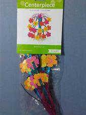 CENTROTAVOLA HAWAII TROPICAL FLOWERS 21.5 cm PARTY FESTA A TEMA