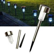 LED Solar Power Outdoor Path Light Spot Lamp Yard Garden Lawn Landscape Pop