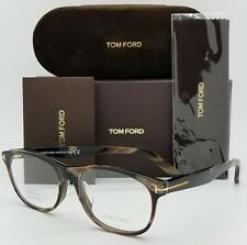 NEW Tom Ford RX Prescription Glasses Brown Horn Gold TF5431/F 062 55mm AUTHENTIC