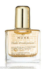 Nuxe HUILE PRODIGIEUSE Multi Purpose Dry Oil For Face/Body/Hair 10ml TRAVEL SIZE