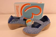 Bare Traps Womens Kassie Mary Jane Wedges Memory Foam Blue 8 M New With Box TFI