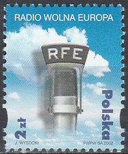 Poland 2002 - Radio Free Europe - Fi 3820 MNH**