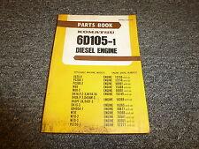 Komatsu 6D105-1 Diesel Engine Parts Catalog Manual