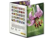 Z07 FRG Germany Stamps 2017 Artist Booklet Series 3 Flowers