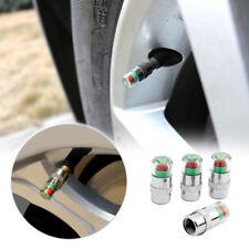 Auto Tire Pressure Monitor Valve Stems Caps Sensor Indicator 3 Color Universal