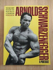 Vintage Bodybuilding Book Arnold Schwarzenegger a Portrait George Butler Rare