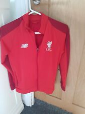 Liverpool FC Official Boys traning zip up jacket top age 10