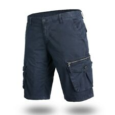 Men's Casual Cotton Pocket Solid Outdoors Work Trouser Cargo Short Pants Us