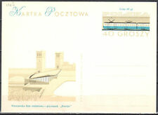 Poland 1963 - railway station - Cp 236 b - postcard - unused