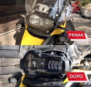 HEADLIGHT FARO SOSTITUTIVO LED BMW R1200GS  ST ADV 2004-2013 PLUG&PLAY OMOLOGATO