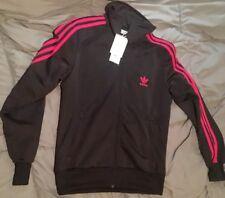 Adidas Firebird Track Jacket black/pink Women's L